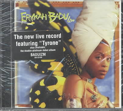 LIVE BY BADU,ERYKAH (CD)